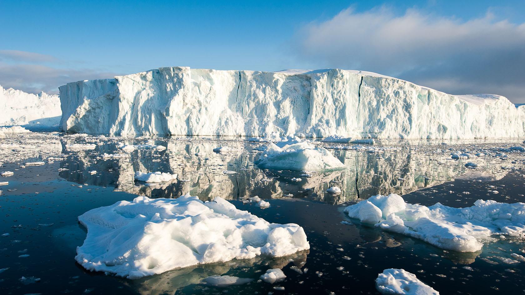 Pobřeží Grónska